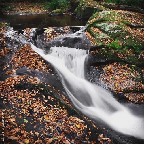 Waterfall - small river