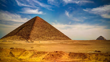 Panoramic View To Bent Pyramid...