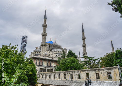 Fotografia  Part of Sultan Ahmed Mosque
