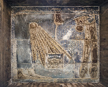 The Goddess Nut, On The Ceiling Of The Temple Of Hathor, Dendera Egypt