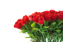 Red Rose Flowers Decorate In Room .