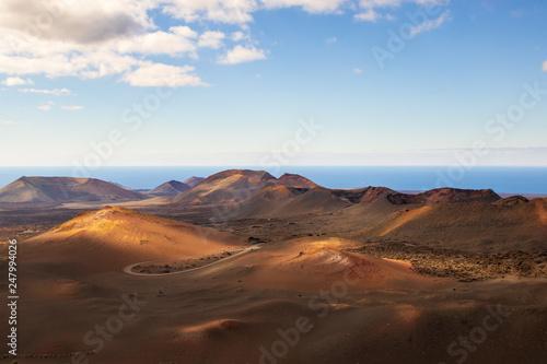 Obraz Timanfaya National Park, Lanzarote - fototapety do salonu