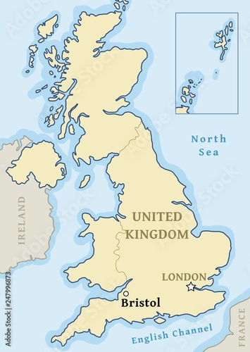 Map Of Uk To Buy.Bristol Uk Map Buy This Stock Vector And Explore Similar Vectors