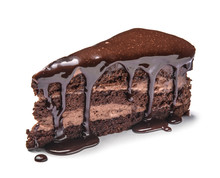 Piece Of Tasty Chocolate Cake ...