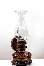 Oil Lamp, Oil Lamp, Old Lamp B...