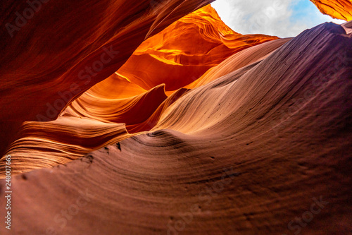 Tuinposter Centraal-Amerika Landen Lower Antelope Canyon
