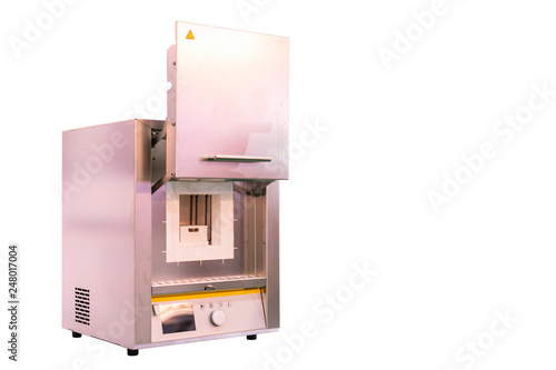 Photo Automatic temperature control chamber or muffle furnace for coating drying harde
