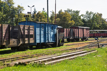 Narrow-gauge Railway In Znin. ...