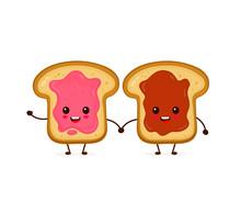 Happy Cute Smiling Funny Kawaii Toasts