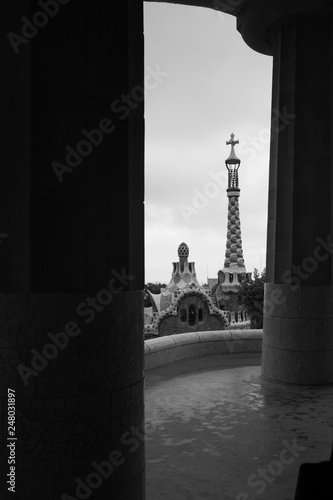 Photo Park Guell in Barcelona