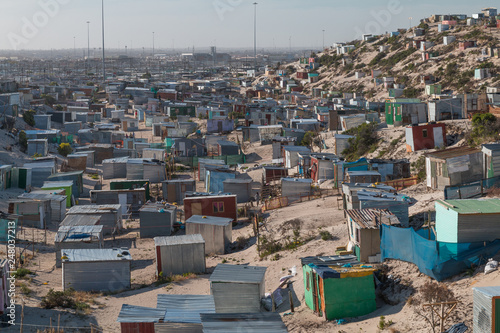 Fotografie, Obraz  Township houses in Cape Town, South Africa