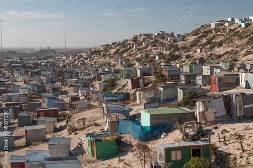 Canvas-taulu Township houses in Cape Town, South Africa