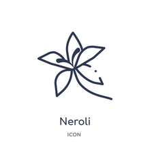 Neroli Icon From Nature Outlin...