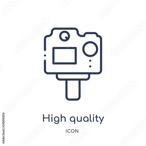 Fotografie, Obraz  high quality icon from photography outline collection