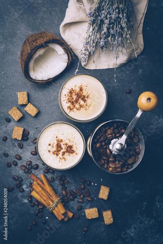 Coconut latte Canvas-taulu