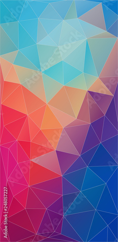 Abstract vertical background for your design - Vector