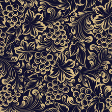 Vine Seamless Pattern For Pack...