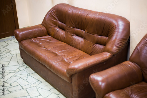Super Leather Sofa The Texture Of Genuine Leather Beautiful And Machost Co Dining Chair Design Ideas Machostcouk