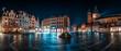 canvas print picture - Panorama Mainzer Marktplatz mit Dom und Markthäusern