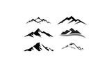 peak logo mountain icon