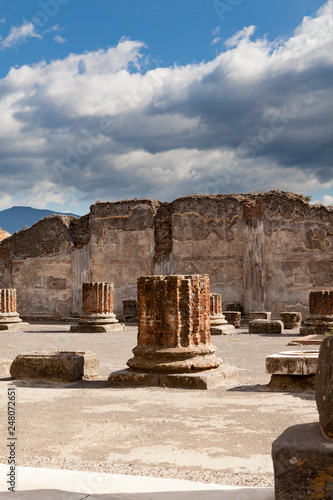 Foto  Ancient City of Pompei Italy Ruins