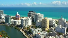 Aerial Drone Footage Miami Bea...