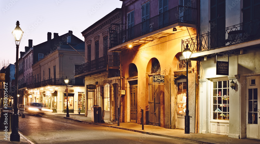 Fototapety, obrazy: French Quarter, New Orleans