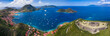 canvas print picture - Iles des Saintes. French Guadeloupe. Caribean island.