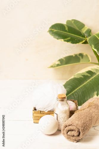 Photo  Set for spa treatments
