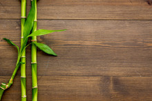 Asian Background. Green Bamboo...