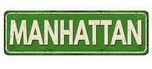 Manhattan Vintage Rusty Metal ...