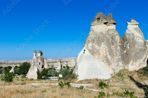 mountain landscape. Cappadocia, Anatolia, Turkey. Wallpaper Mural