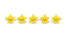 Happy Cute Smiling Funny 5 Stars