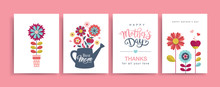 Set Of Mother's Day Greeting C...