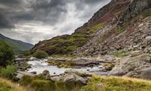 View Of Snowdonia National Park, Gwynedd, Wales, UK