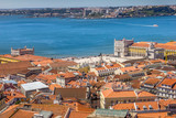 Aerial view of Lisbon, Portugal - 248133206
