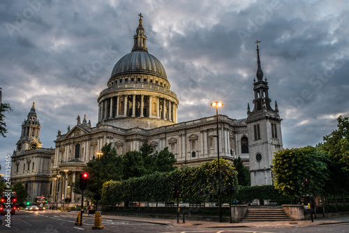 London St. Paul's Cathedral Canvas Print