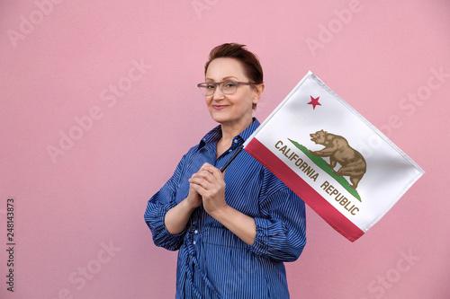 Fotografie, Obraz  California flag
