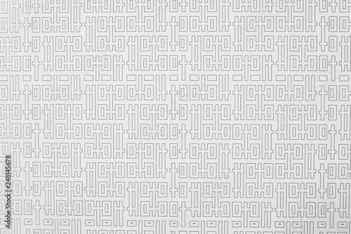 Fotografering  Arrière plan motif graphique régulier