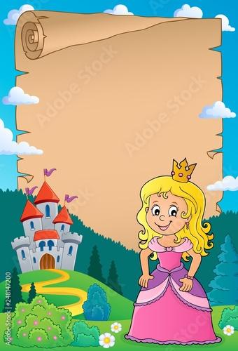 Princess topic parchment 1