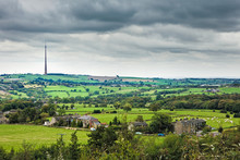 Emley Moor TV Transmitter, Yorkshire, England