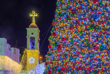 Christmas 2017 In Mary Well Square, Nazareth