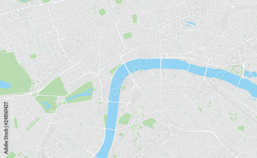 picture about Printable Map of London referred to as London, United kingdom, printable map - Get this inventory vector and