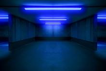 Illuminated Parking Lot / Unde...
