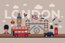 Digital Vector London Simple Icons