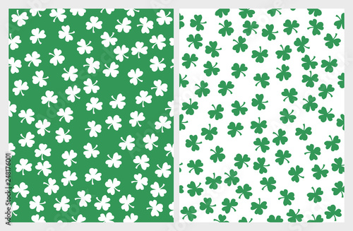 Fotografia St Patrick Day Seamless Vector Patterns