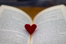 Heart Used As A Brand Pages Of...