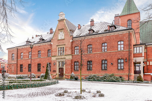 Photographie KRAKOW, POLAND -JANUARY 20, 2018: The Divine Mercy Sanctuary, Roman Catholic bas
