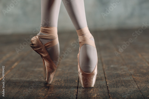 Obraz na plátně Ballerina female
