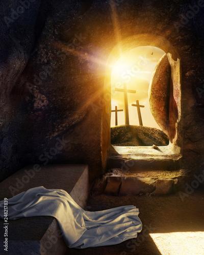 Cuadros en Lienzo He is Risen